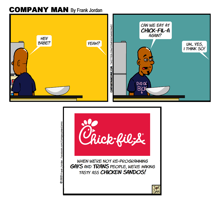 Brought to you by #ChickFilA!