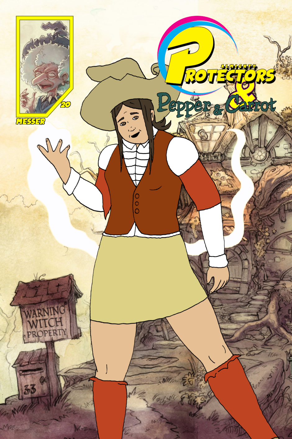 Cover: issue 20 - Witchy Women