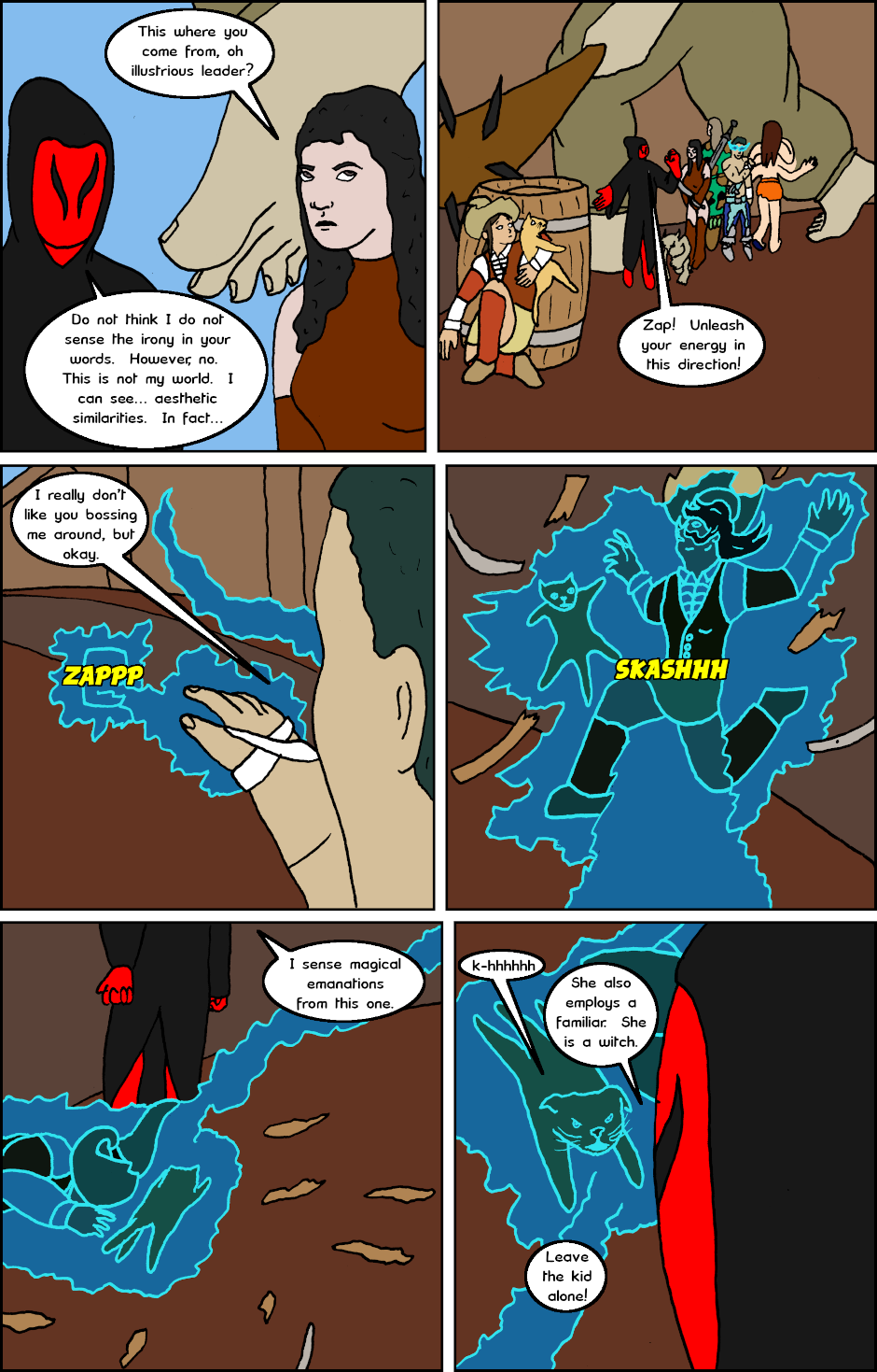 Page 2: issue 20 - Witchy Women