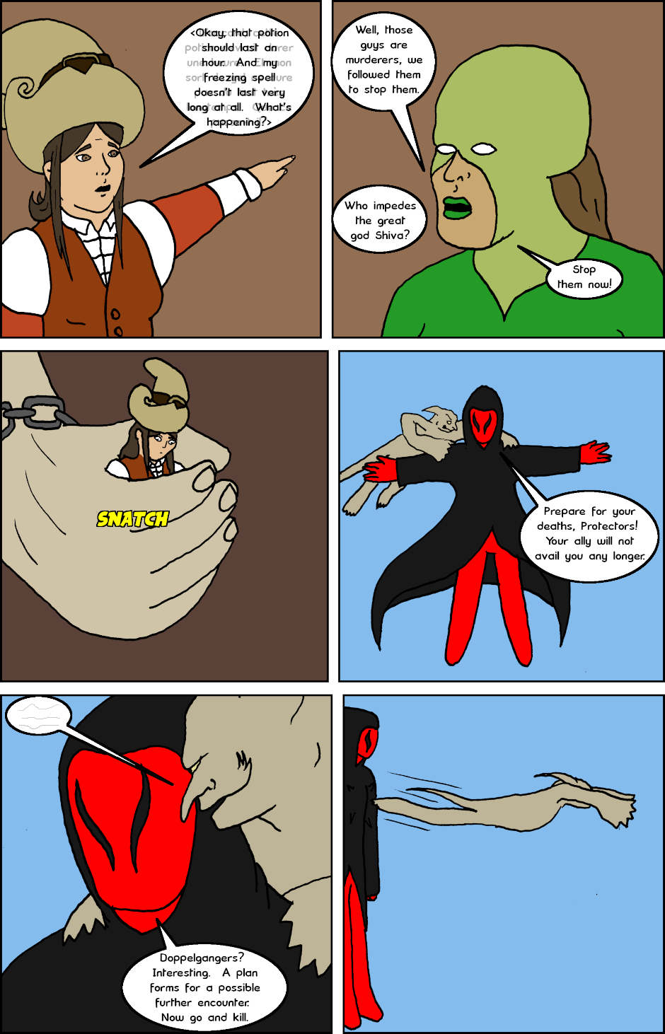 Page 7: issue 20 - Witchy Women