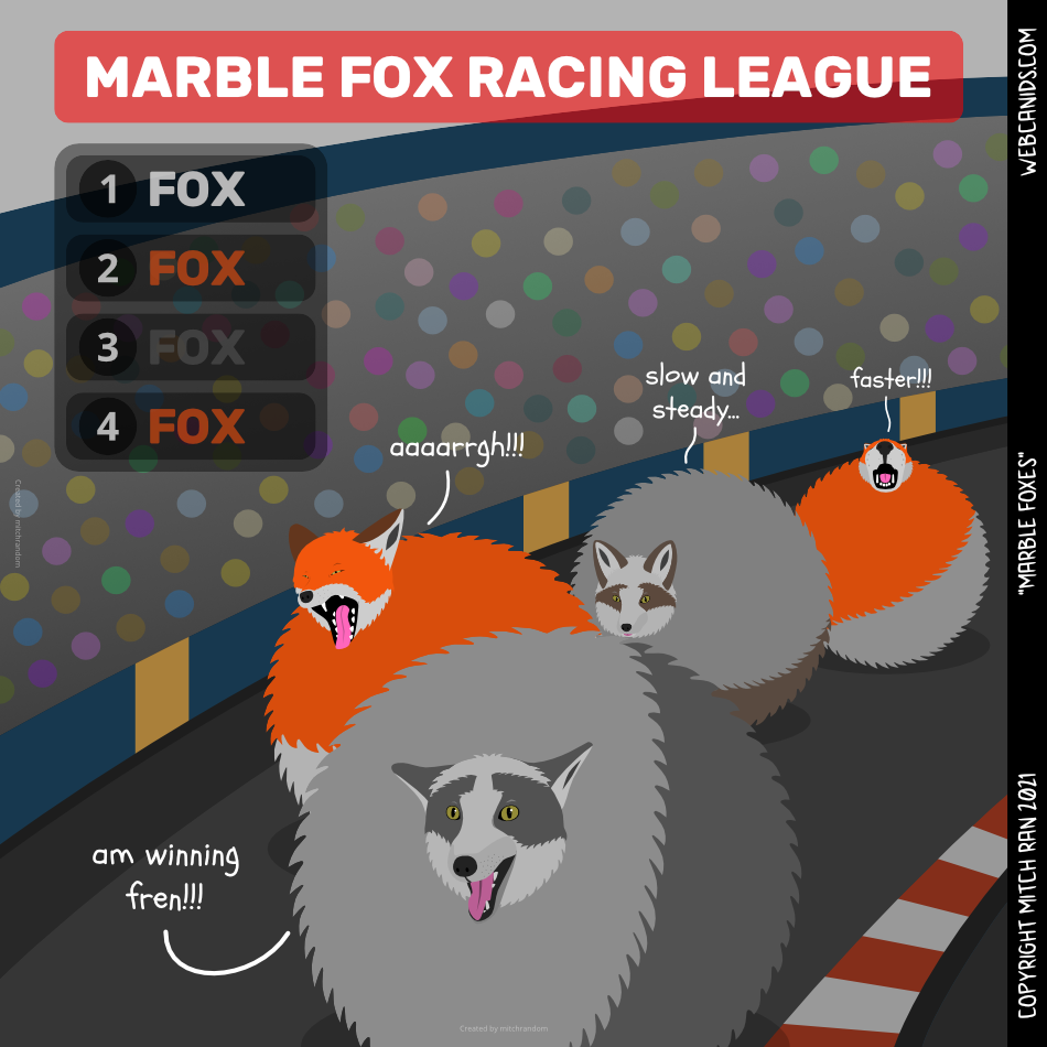 Marble Foxes