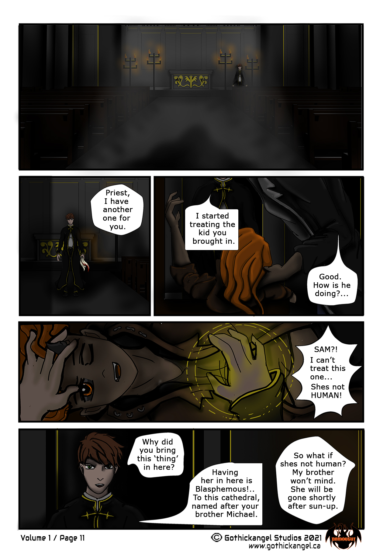 Darknight Manga Comic Page 11
