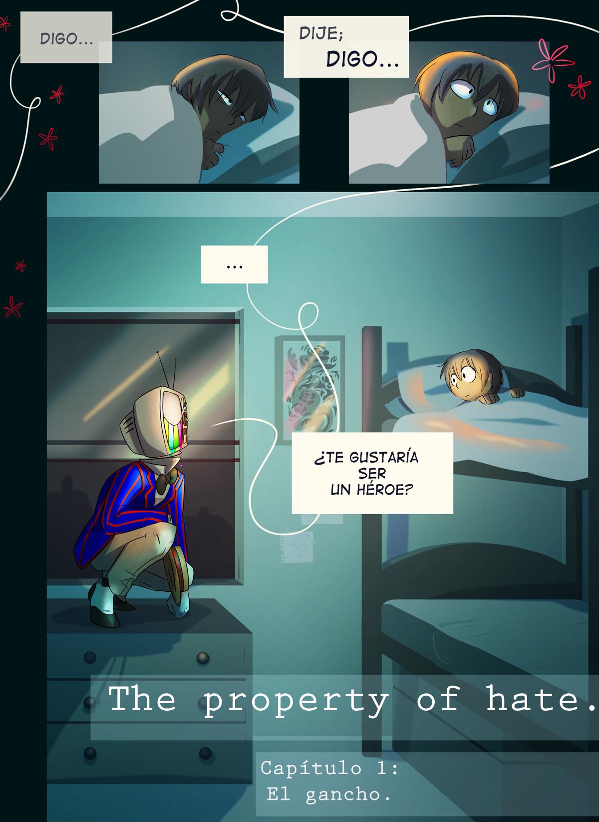 El Gancho: pagina 1