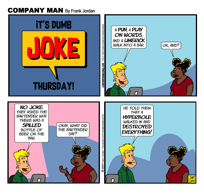 This #DumbJokeThursday might give you a headache!