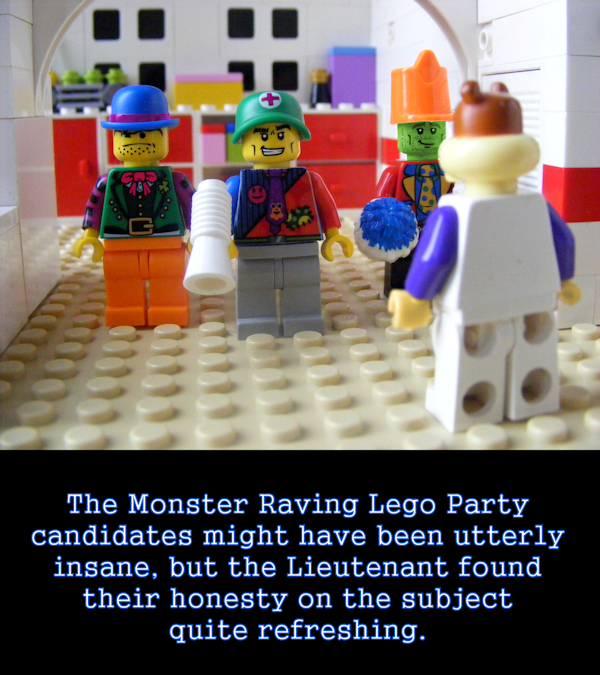 Monster Raving Lego Party
