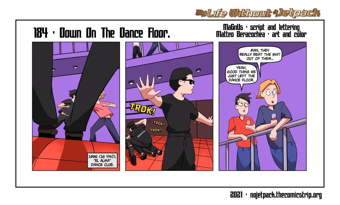 184 - Down On The Dance Floor.