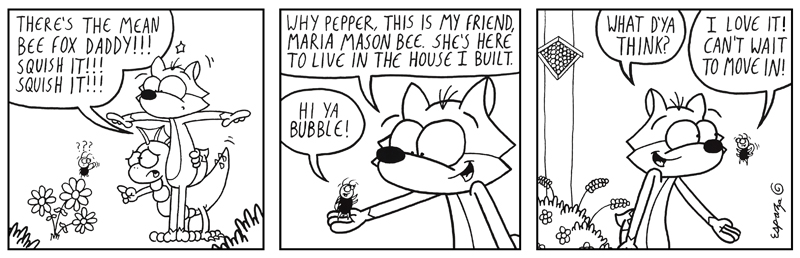 THE BUBBLE AND THE BEES, PT. 3 (BF #687)