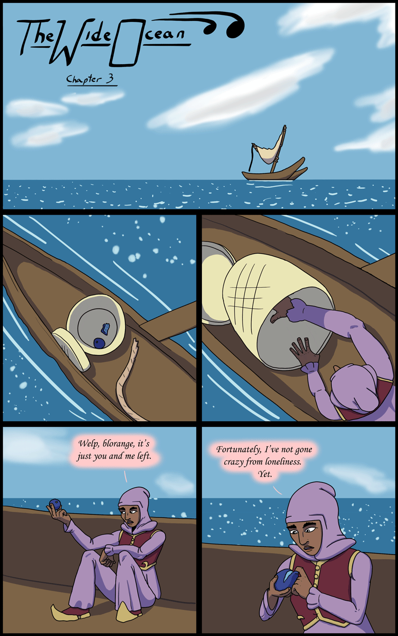 The Wide Ocean - Page 201