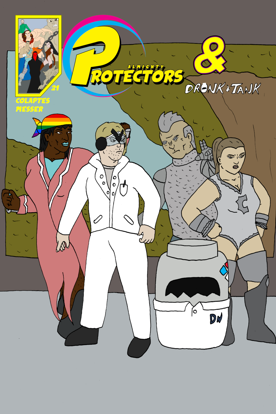 Cover: issue 21 - Protectors and Serve