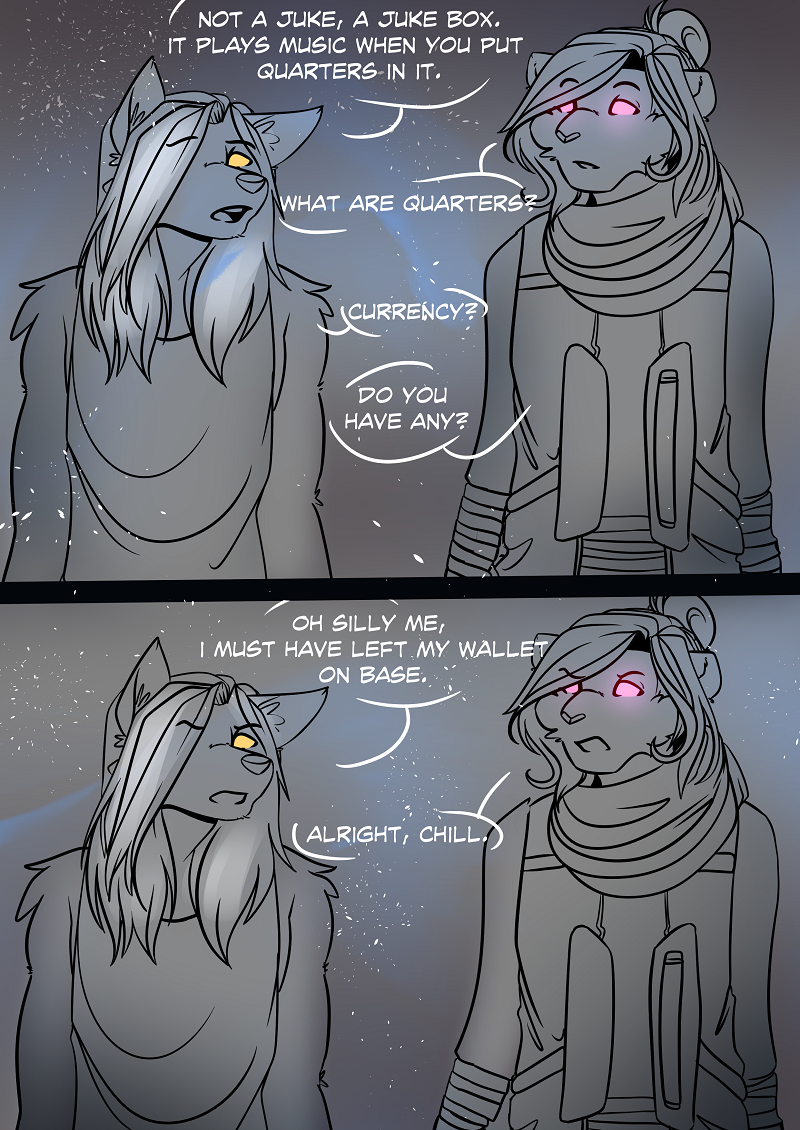 Stardust Part 1 -Guest Comic by Chilled-Space
