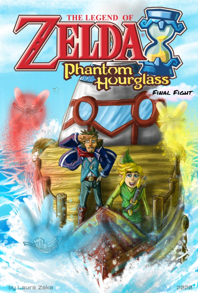 Phantom Hourglass - Final Fight--- FRONT COVER