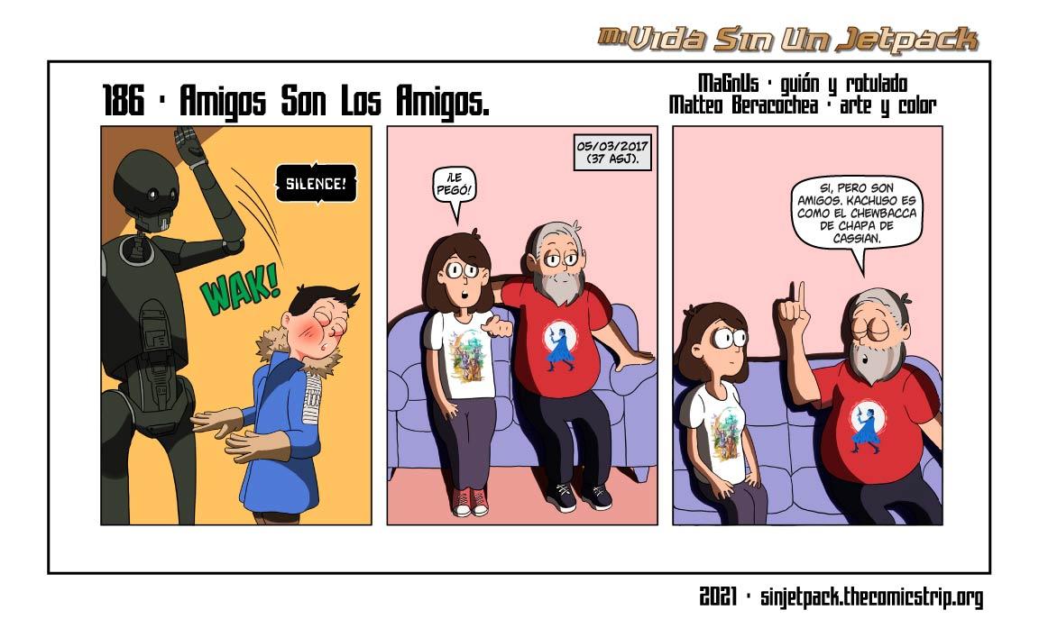 186 - Amigos Son Los Amigos.