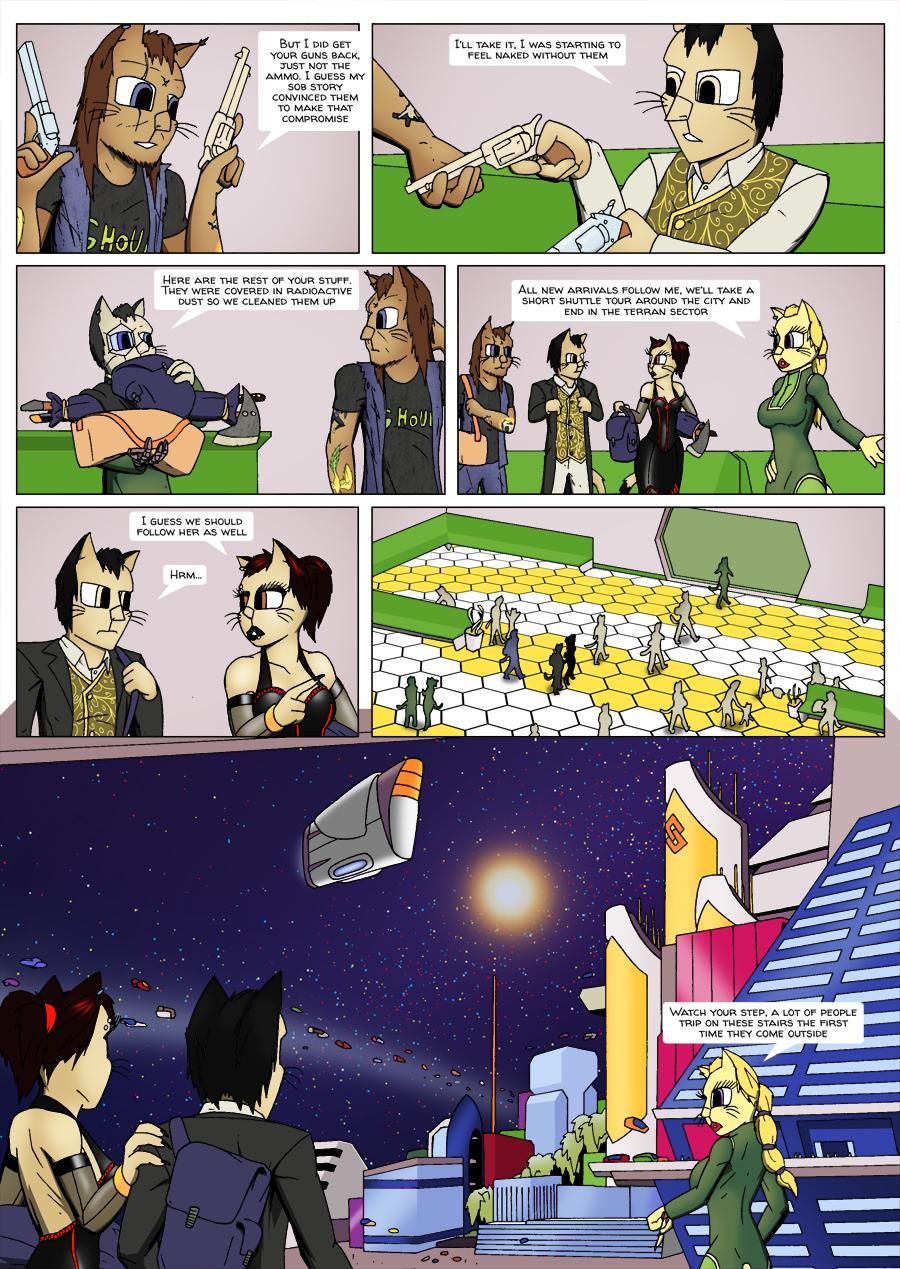 Escape Velocity: Old habits page 6