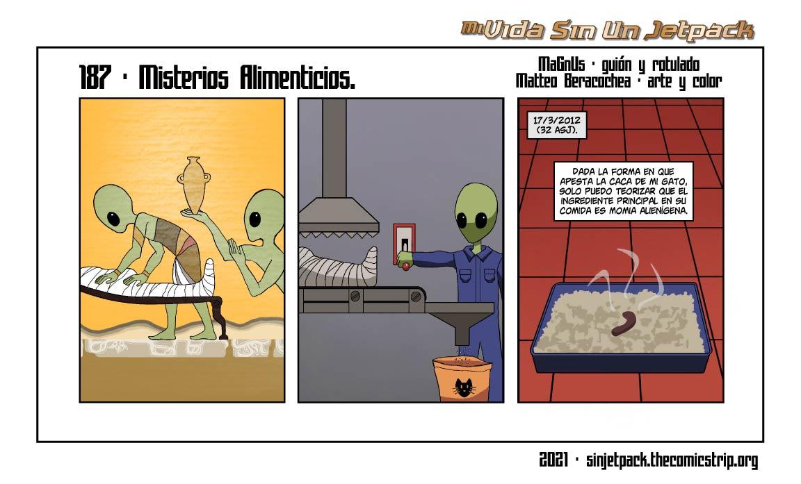 187 - Misterios Alimenticios.