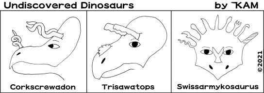 Undiscovered Dinosaurs