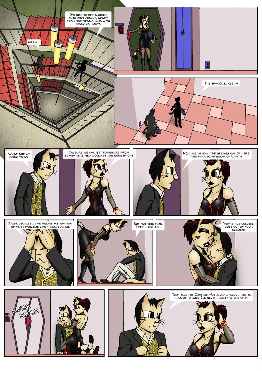 Escape Velocity: Old habits page 11