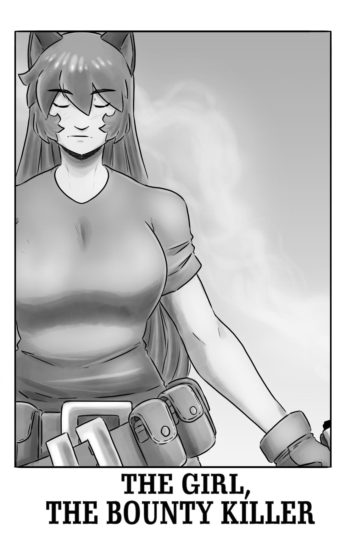The Girl, The Bounty Killer pg.1