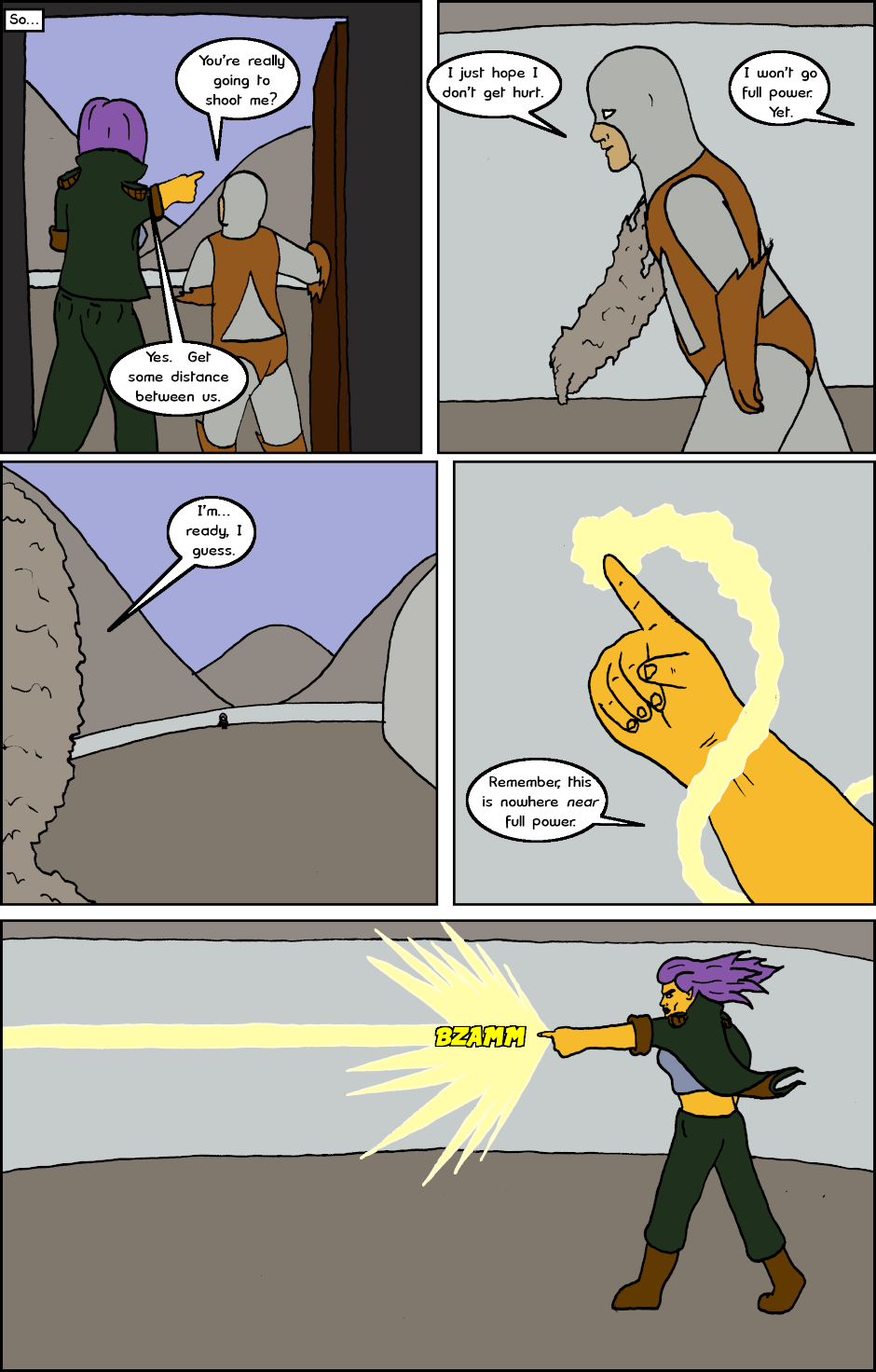 Page 8: issue 22 - Bigger Fish