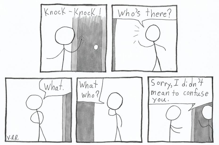 Knock-knock Who