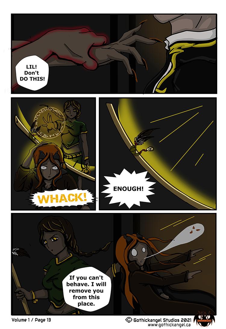 Darknight Manga Page 13 - Discipline