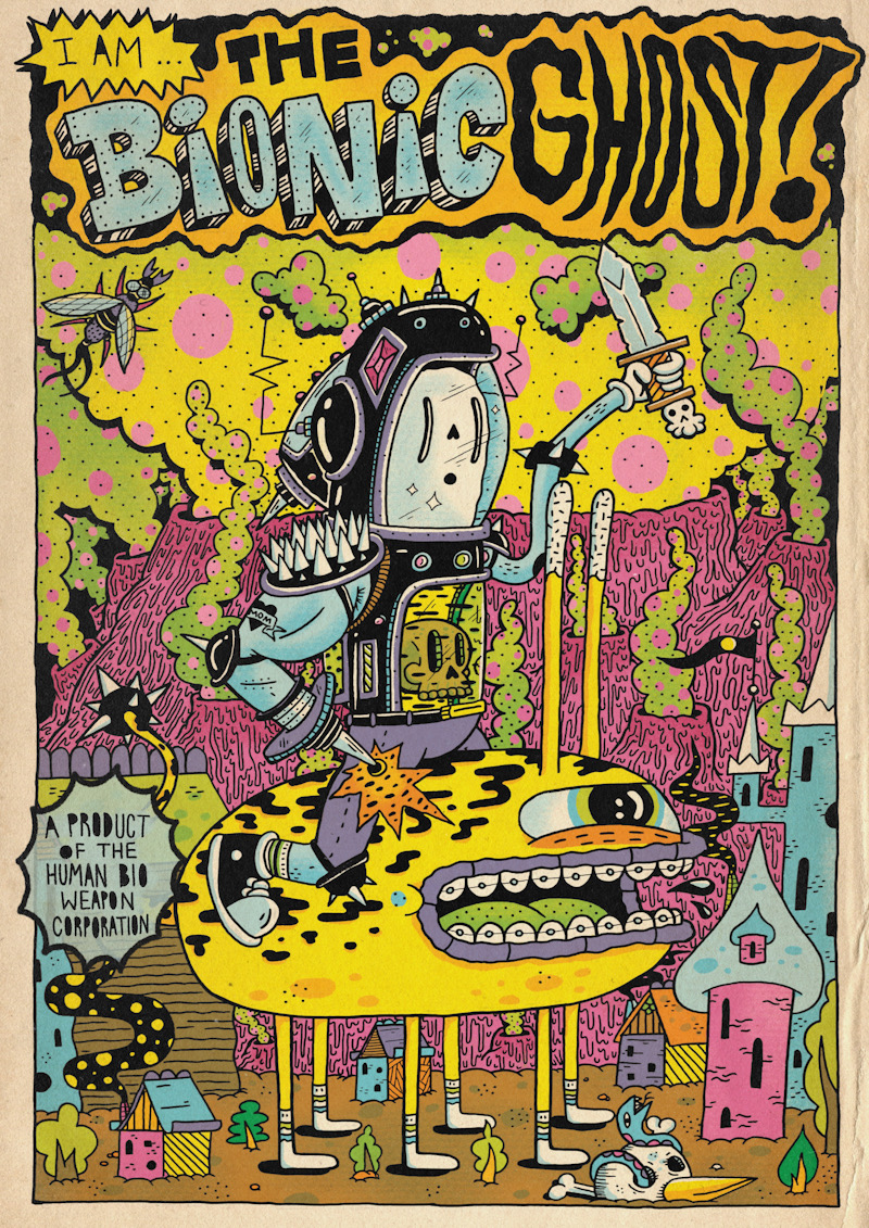 39.THE BIONIC GHOST!
