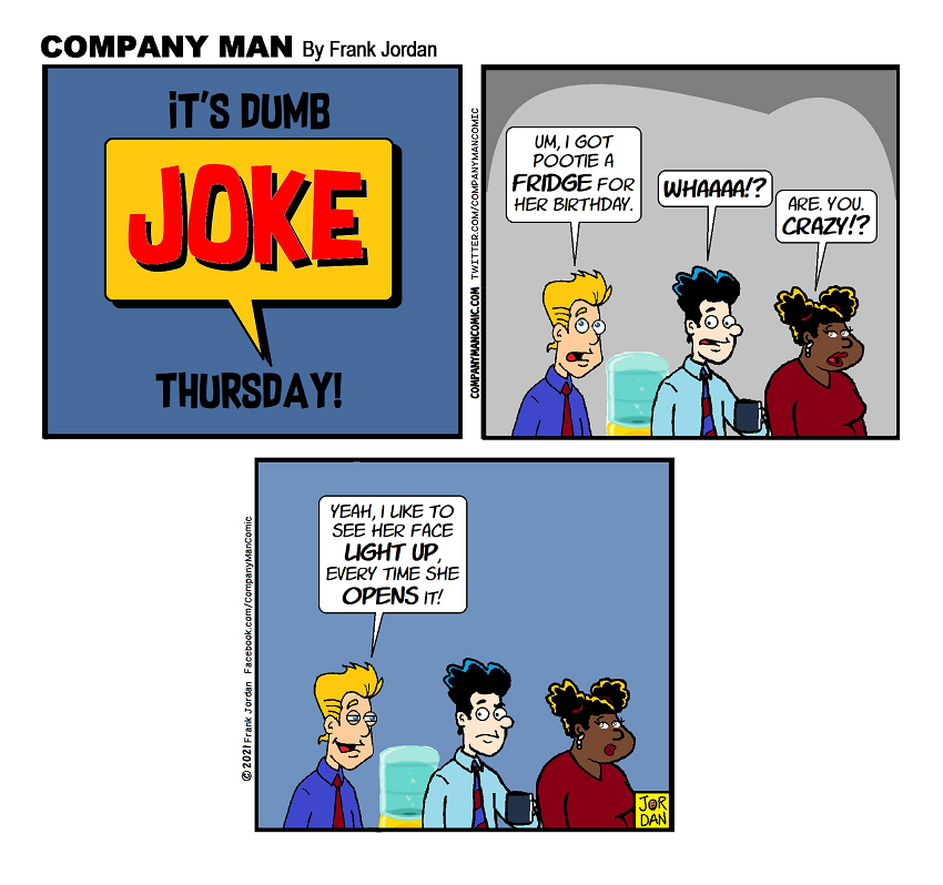 It's #DumbJokeThursday!