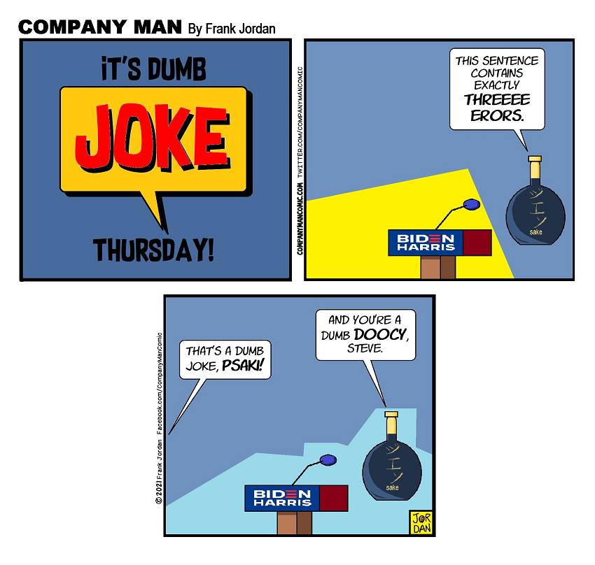 It's #DumbJokeThursday!