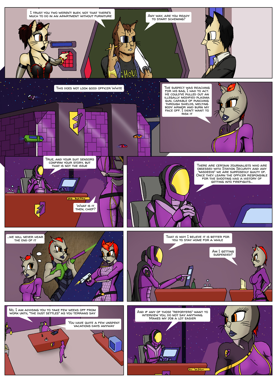 Escape Velocity: Old habits page 12