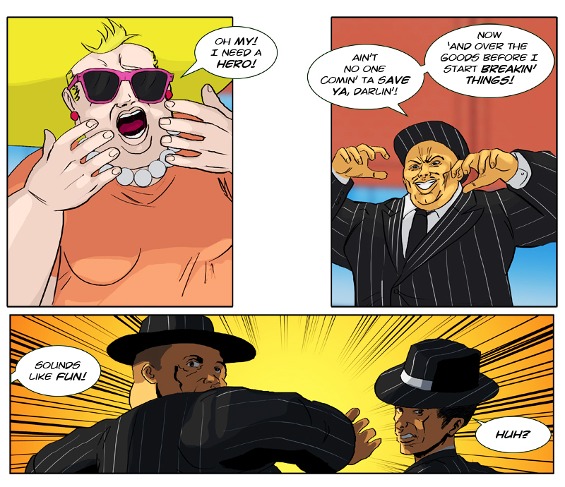 HOTWAB Issue 10 - 'Savage Shopping' Page 1