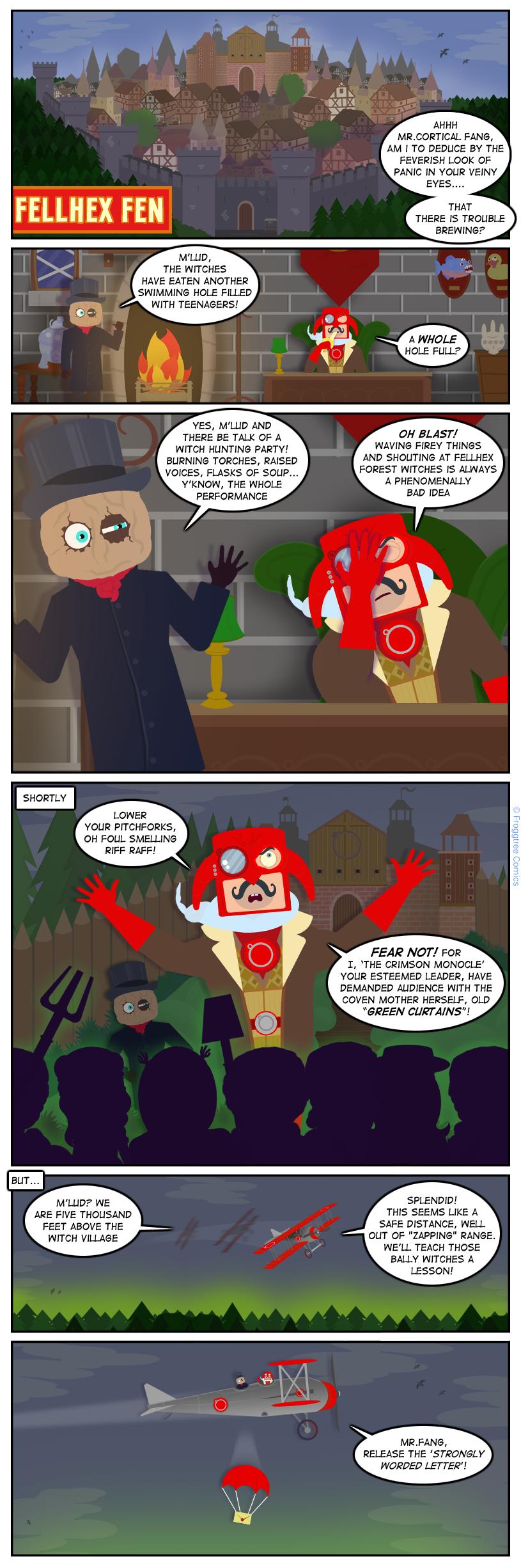 FellHex Fen: Coven Trouble