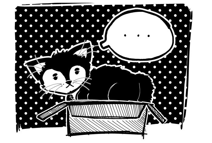 (Art Break) Meow...?