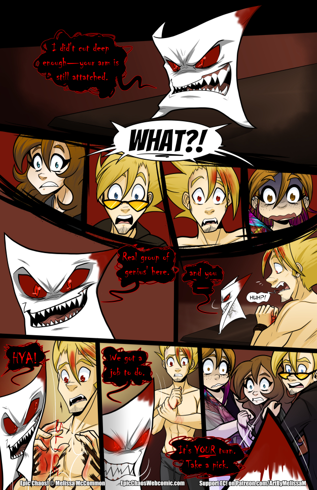 Epic Chaos! Chapter 3 Page 34