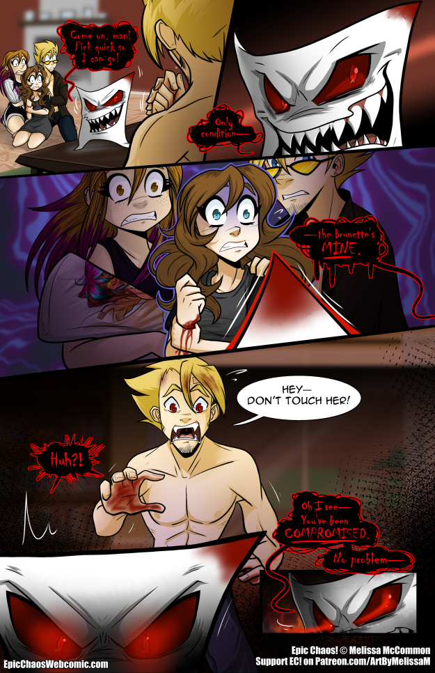 Epic Chaos! Chapter 3 Page 35