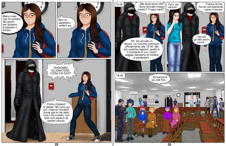 Demon Hunters Capítulo 7 Página 29-30