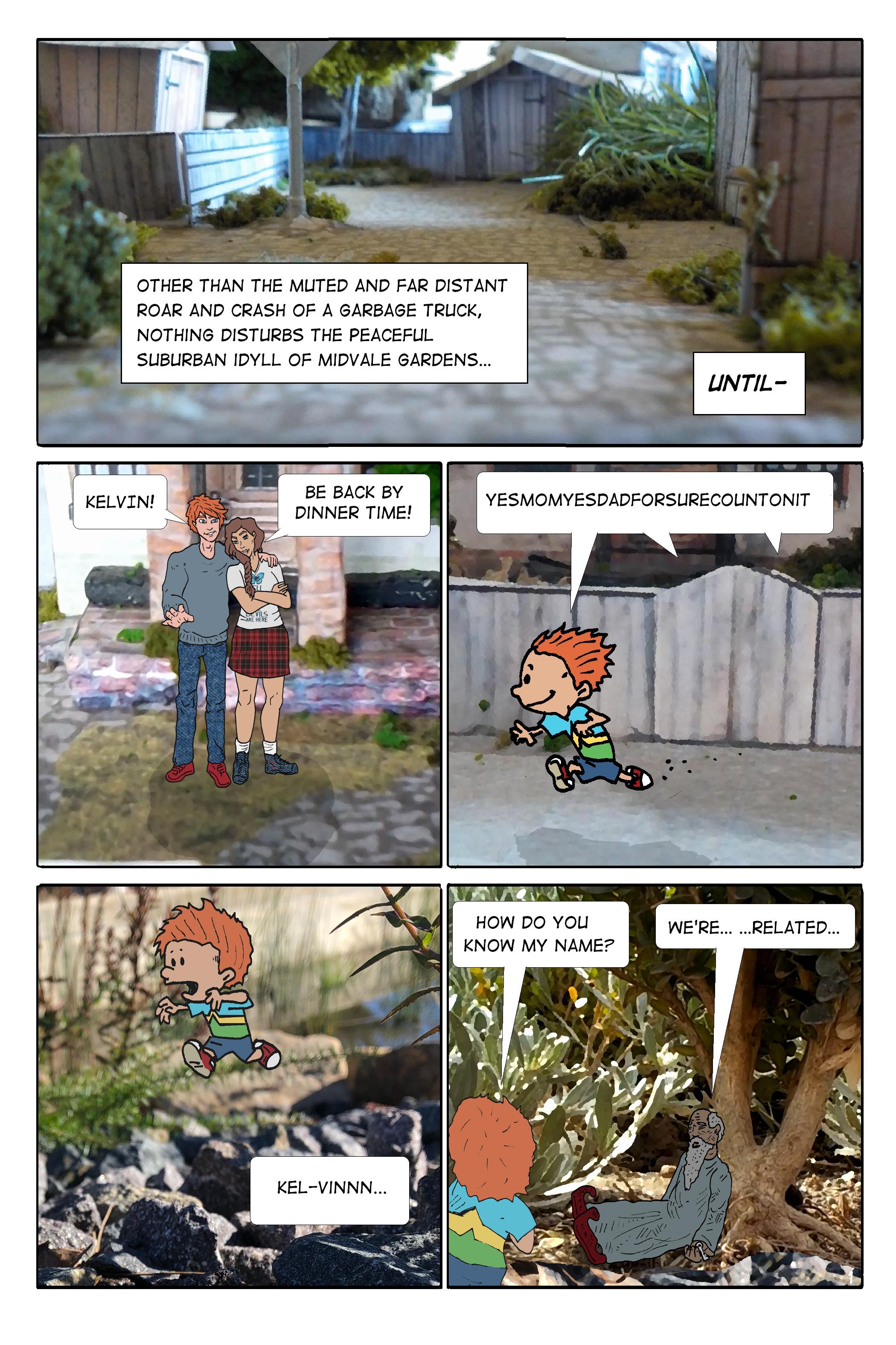 Kid Celephais - page 1