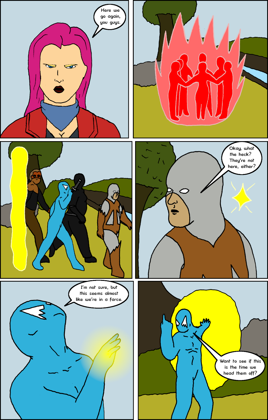 Page 8: issue 23 - Going Everywhere and Nowhere