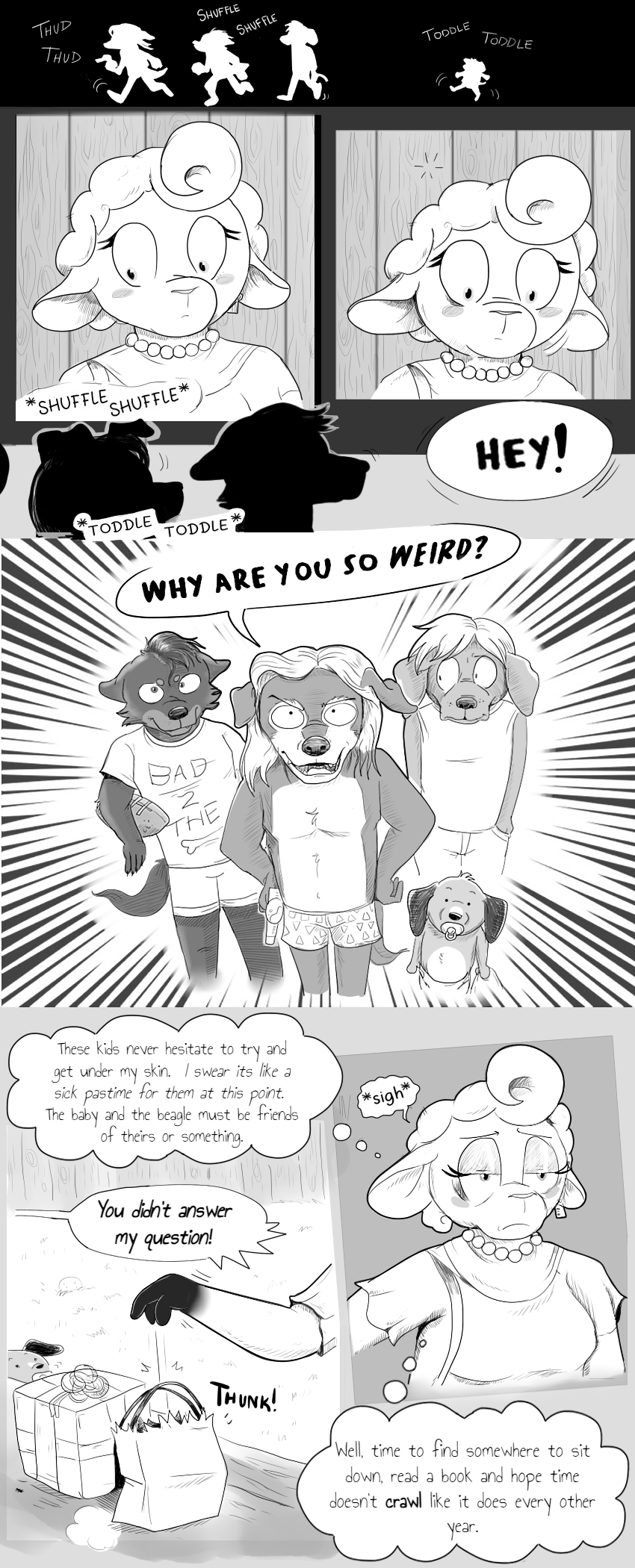 Chapter 2, Page 8 - No Time Spared