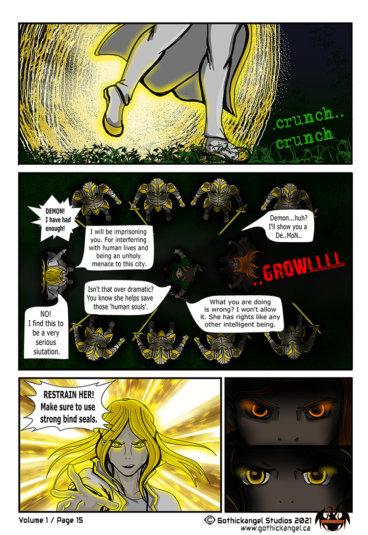Darknight Manga Page 15 - Law of the Council