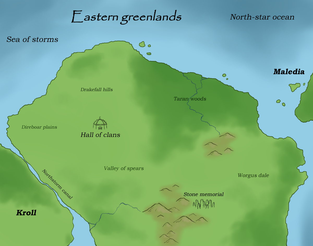 Clans of Eastern greenlands