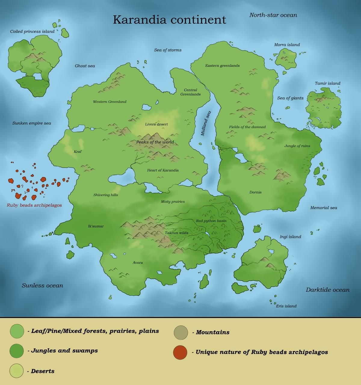 Karandia continent