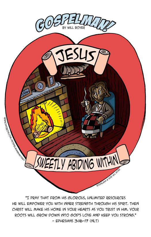Jesus Sweetly Abiding Within
