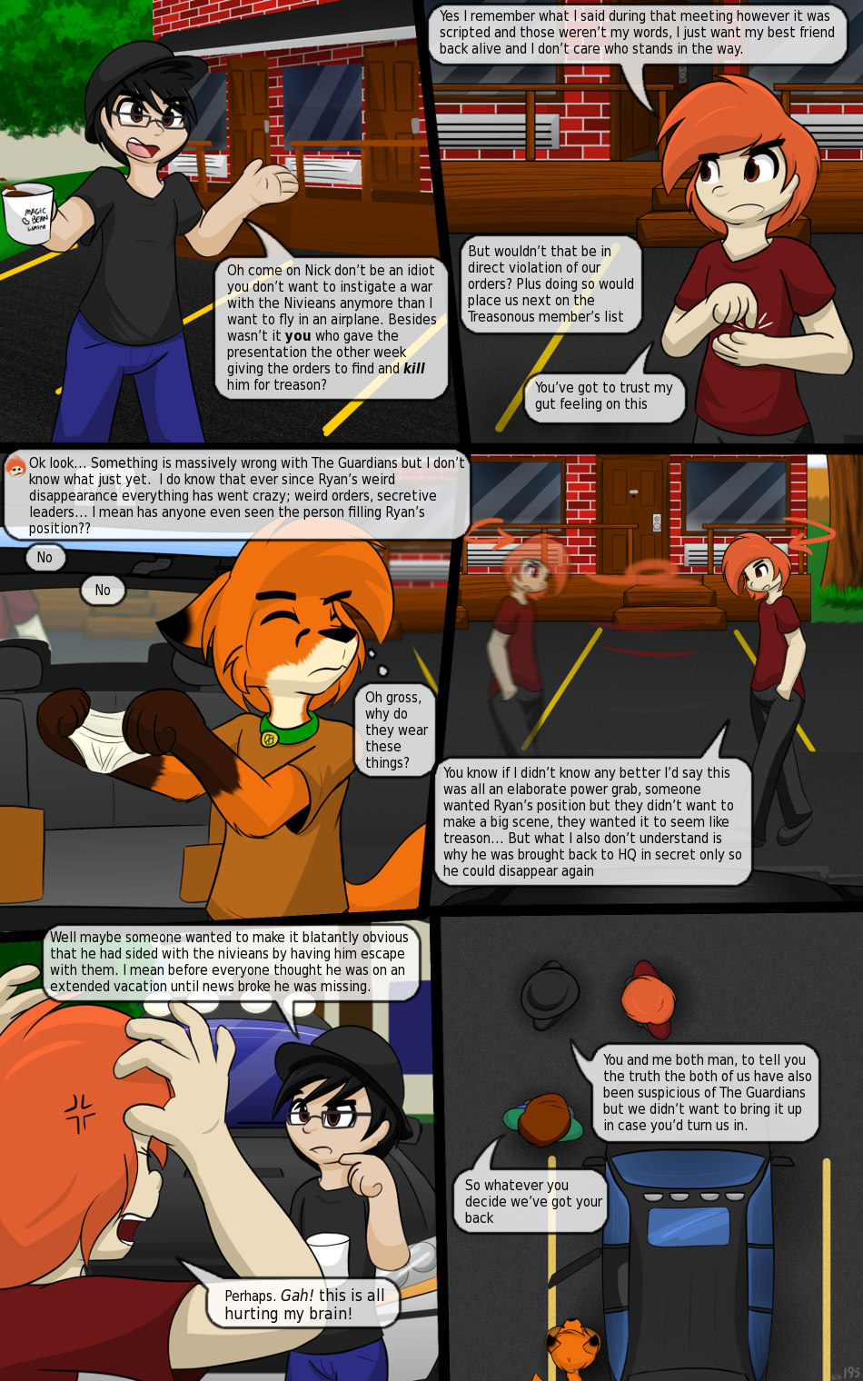 P195 - Reaching Nick's Better Judgement