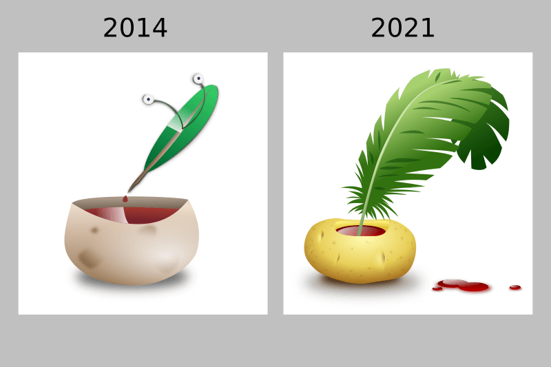 Seven years of Inkscape