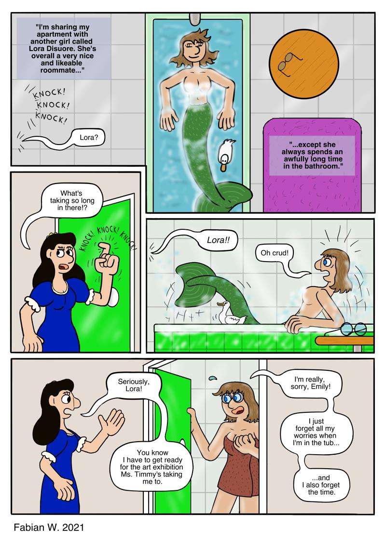 Mermaid In Da House