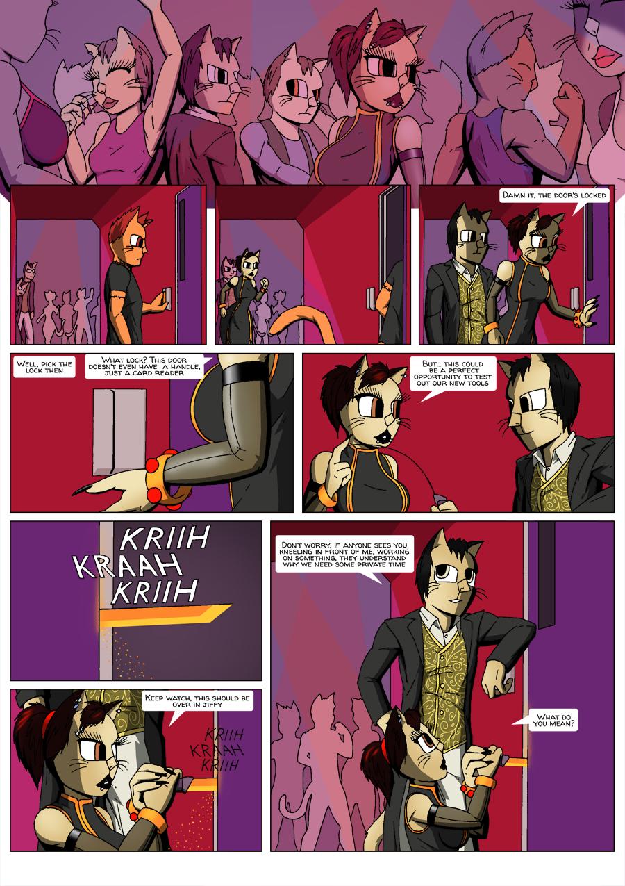 Escape Velocity: Old habits page 20