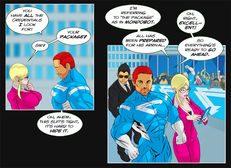 Issue 10 - 'Robo-Rowdydow' Page 2