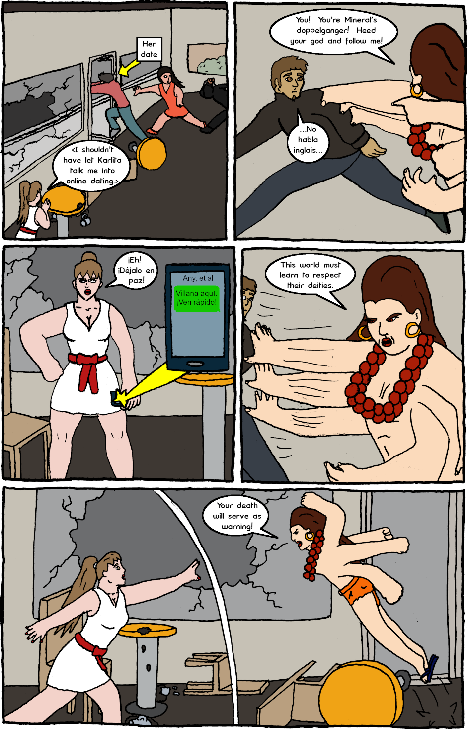 Page 2: issue 24 - Mexican Standoff