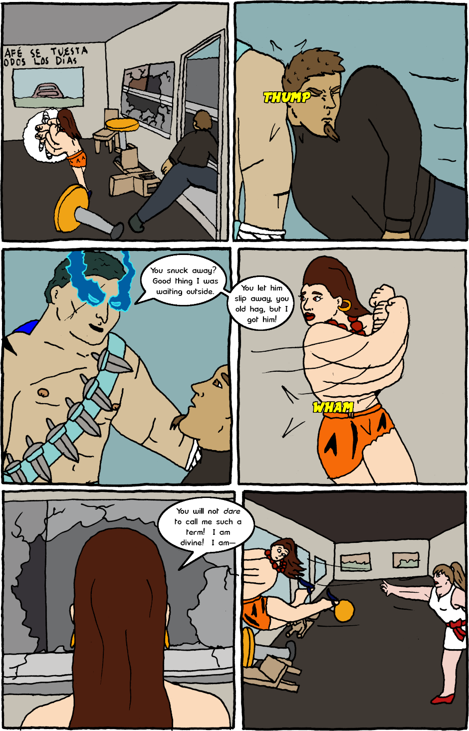 Page 3: issue 24 - Mexican Standoff