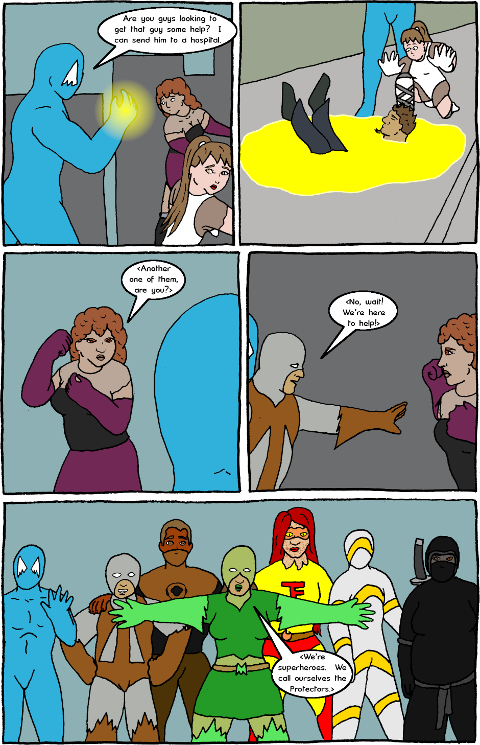 Page 8: issue 24 - Mexican Standoff