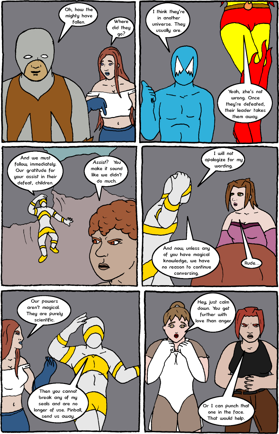 Page 21: issue 24 - Mexican Standoff